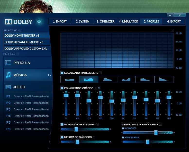Скачать звуковой драйвер dolby advanced audio v2