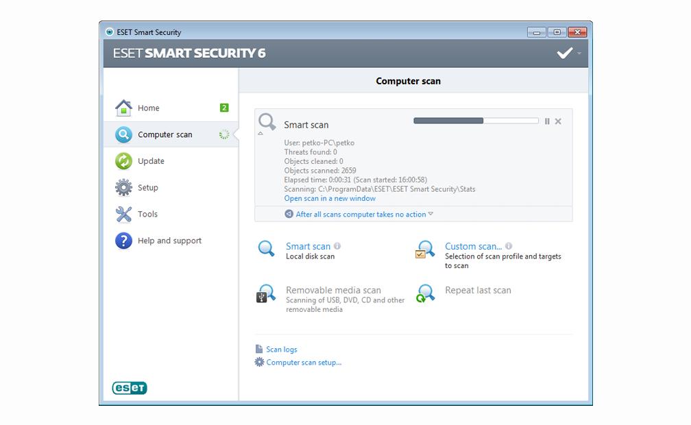 Скачать антивирус eset smart security