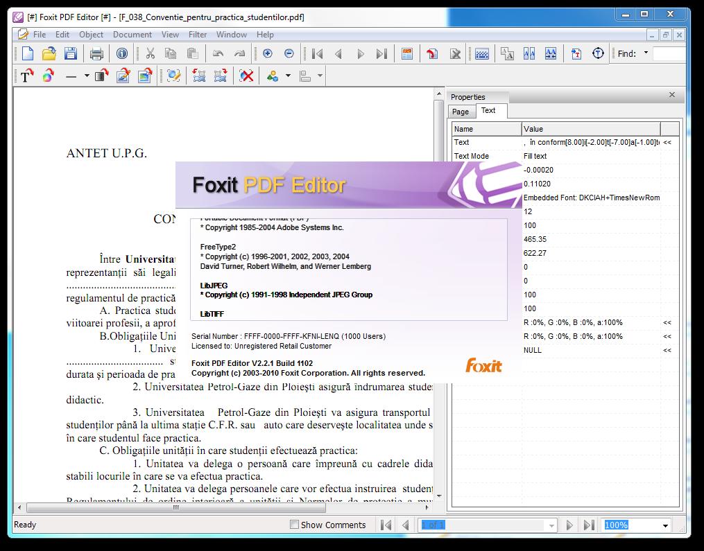 Скачать бесплатно Foxit PDF Editor для Windows 10 на русском