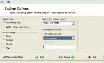 Outlook Express Backup