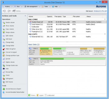 Acronis Disk Director Portable