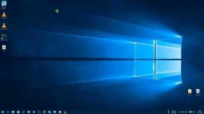 Рабочий стол на Windows 10