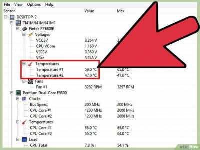 Температура процессора