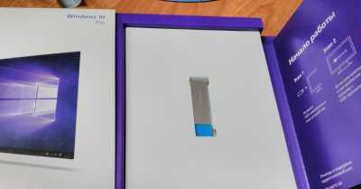 Windows 10 для установки с флешки
